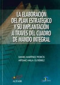 Libro La Elaboración del Plan Estratégico y su implantación a través del Cuadro de Mando Integral
