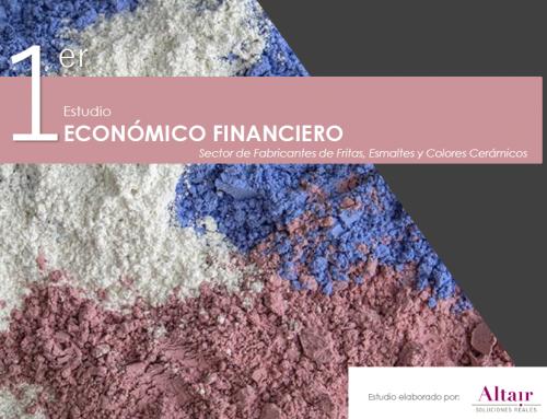 I Estudio Económico Financiero de Fabricantes de Fritas, Esmaltes y Colores Cerámicos