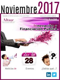 NEWS Innovación y Financiación Pública Noviembre 2017