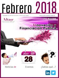 NEWS Innovación y Financiación Pública Febrero 2018
