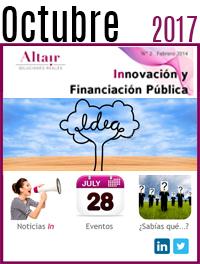 NEWS Innovación y Financiación Pública Octubre 2017