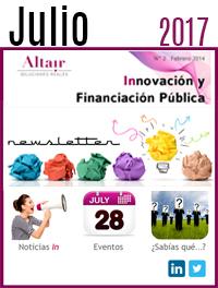 NEWS Innovación y Financiación Pública Julio 2017