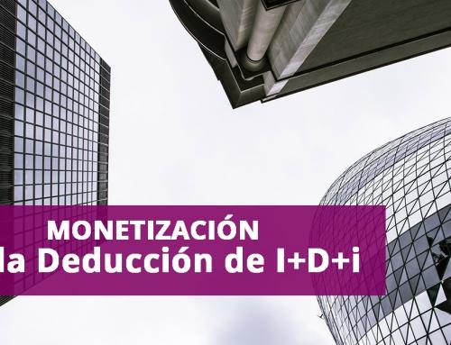 Monetización de la Deducción de I+D+I