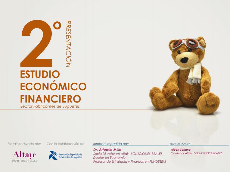 Estudio Financiero Juguetes