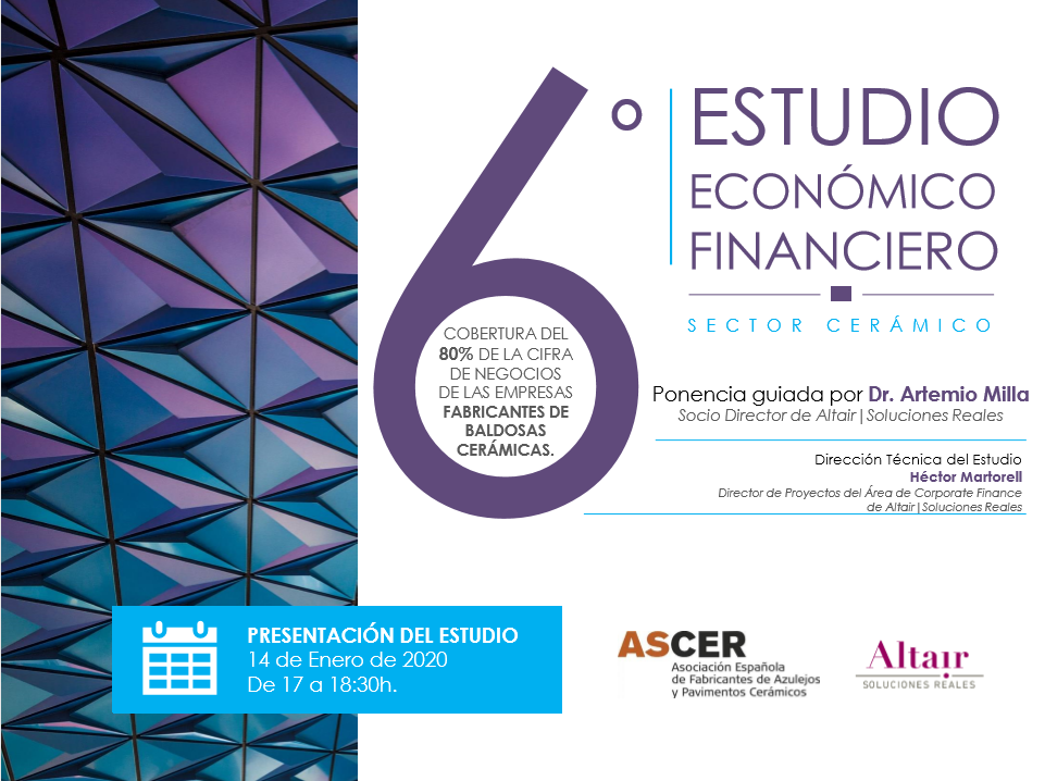 Estudio Financiero Sector Ceramico 2020