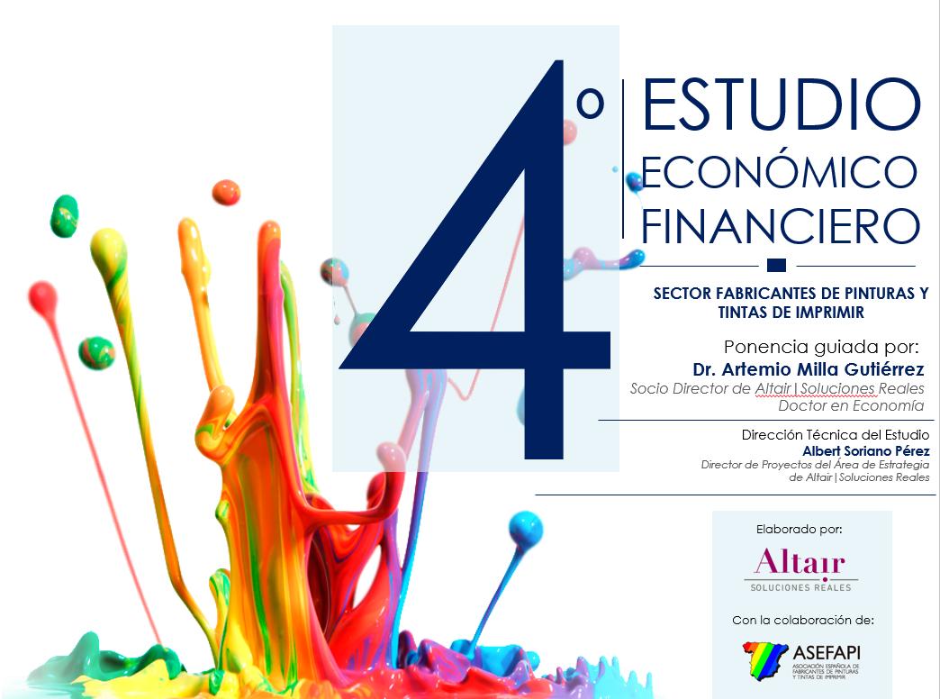 Presentación Estudio Económioo Financiero Pinturas y Tintas de Imprimir