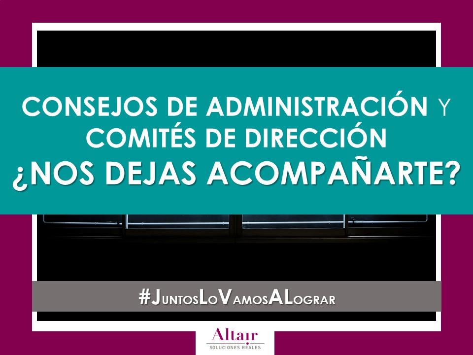 CONSEJOS DE ADMINISTRACIÓN Y COMITÉS DE DIRECCIÓN