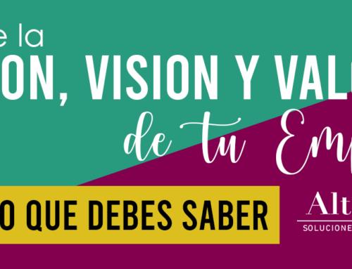 Define la Misión, Visión y Valores de tu Empresa